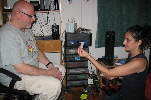 Bob and Maeve making decisions.
