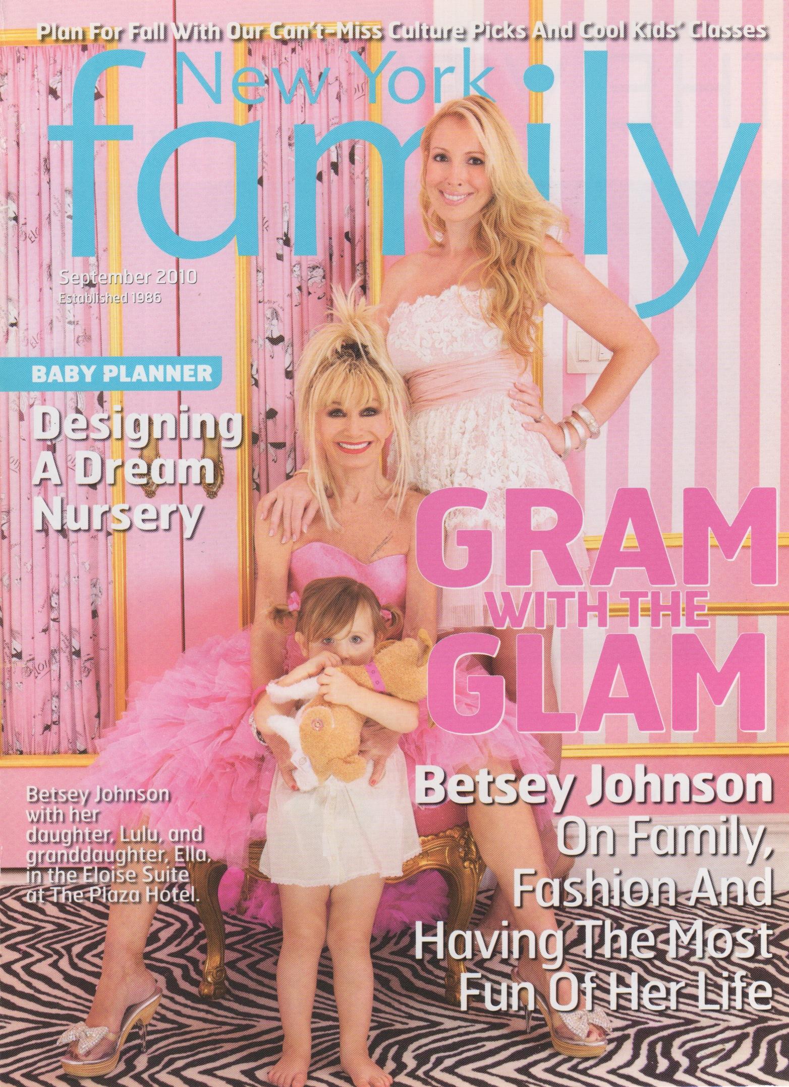 2010 – New York Family Cover (Sept)