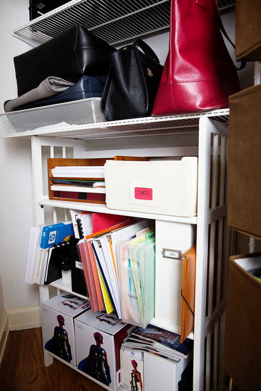 Dawn Nadeau Home Office Closet After Bag Drop After 1