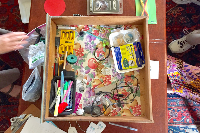 Junk Drawer_Drawer overhead