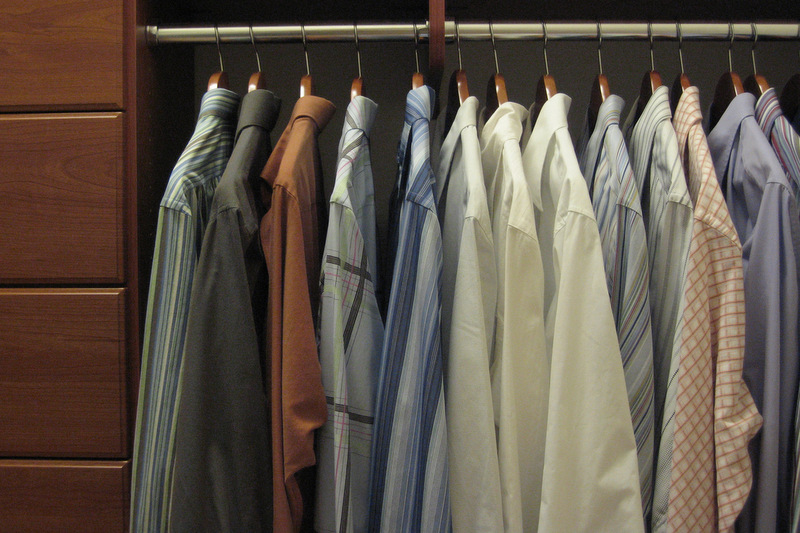 Ask Maeve: My Boyfriend Wants To Split The Closet 50/50