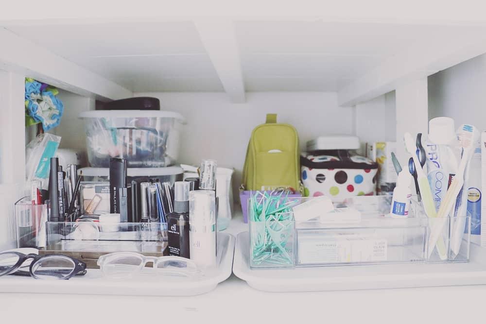 Hello Natural Blog Organized Bathroom Cabinet Caddies