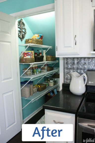 Brooke's 'after' - wow! clean, clear, bright and seamlessly integrated