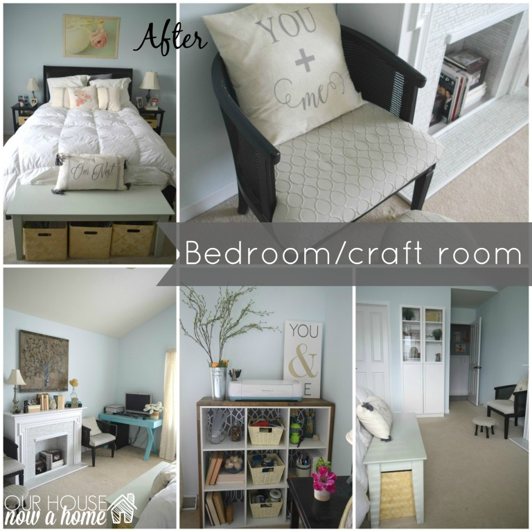 More 'after' magic from Emily's dual-room makeover
