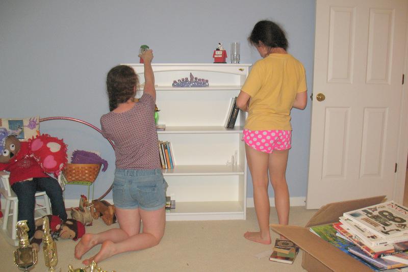 Inviting Kids To Organize Pransky Sisters In Process
