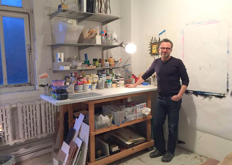 Rodney's Art Studio Transformation